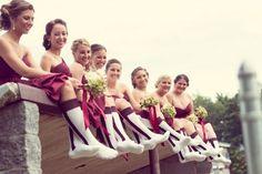 baseball wedding- sock for the reception!!!