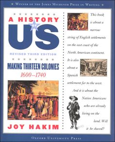 A History of US, third edition Beautiful Feet Books, Rainbow Resource, Travel Brochure, Teaching History, Project Based Learning, Reading Skills, In Writing, Book Gifts, Paperback Books
