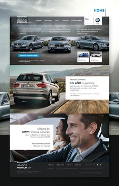 Inchcape Motors - Diseño Web Usados Premium on Behance
