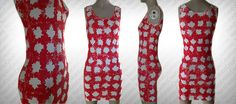 Custom Hand Painted CANADA Flag Dress by NatsExoticCreations on Etsy