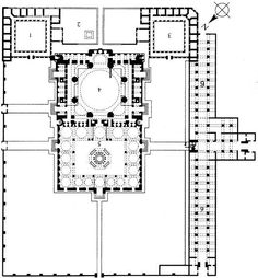 Mosque of Selim II. Edirne, Turkey. Sinan (architect). 1568–1575 C.E. Brick and stone.
