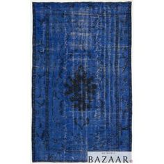 http://myworldbazaar.com/696-thickbox/overdyed-rug-blue.jpg