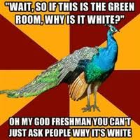 I laughed WAY too hard at this. My school doesn't even have a green room, but all my other theatres do so that's good