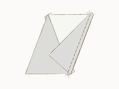 DIY-Anleitung: Patchwork-Tagesdecke aus Dreiecken nähen via DaWanda.com