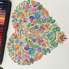 Johanna Basford   Colouring Gallery Joanna Basford, Johanna Basford Secret Garden, Secret Garden Coloring Book, Debbie Macomber, Coloring Book Pages, Adult Coloring, Colored Pencils, Color Schemes, Gallery