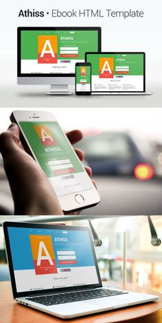 Athiss - Ebook HTML Template. HTML/CSS Themes. $8.00
