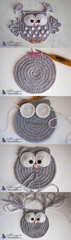Baby Knitting Patterns 5 ungelesene Chats knitting and crochet Baby Knitting Patterns 5 ungelesene Chats (NewBorn Baby Stuff) Baby Knitting Patterns, Crochet Patterns, Crochet Ideas, Amigurumi Patterns, Baby Patterns, Canvas Patterns, Crochet Owl Applique, Crochet Motif, Crochet Flowers