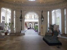 Interior courtyard, Palais Kinsky, Vienna Vienna, Woman, Places, Interior, Home Decor, Decoration Home, Indoor, Room Decor, Lugares