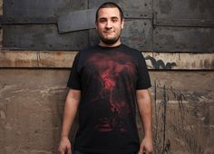 """""""The Unexpected Guest"""" - Threadless.com - Best t-shirts in the world"""
