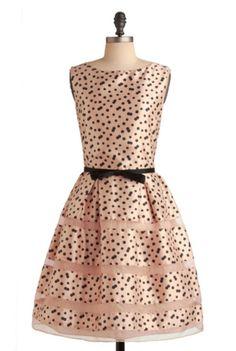 8e5f534f94e7 Modcloth  Rosé Bubbly  dress Mod Dress
