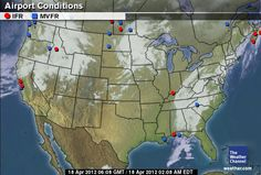The Weather Channel Map Room - http://www.weather.com/maps/activity/aviation/uscurrenttemperatures_large.html?clip=undefined=undefined=localwxforecast=undefined