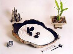 Loot-A-Gram Post: International Day Of Peace Desk Zen Garden, Zen Rock Garden, Mini Zen Garden, Meditation Garden, Meditation Space, Feng Shui, Miniature Zen Garden, Small Gardens, Zen Gardens