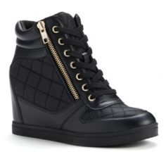 Rock & Republic Wedge Sneakers - These need to be on my feet right now!