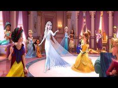 Elsa Frozen 2 VS Disney Princesses - YouTube Elsa Frozen, Disney Princesses, Fantasy World, Cake, Youtube, Vestidos, Frozen Videos, Lock Screen Backgrounds, Princesses