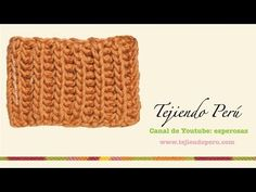 Cómo Tejer Punto Ingles - Brioche Stitch 2 Agujas (8) - YouTube