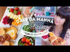 CAFÉ DA MANHÃ ESPECIAL | I Could Kill For Dessert 93 #ICKFD Diy Cards For Boyfriend, Good Morning My Love, Good Food, Brunch, Make It Yourself, Coffee, Breakfast, Sweet, Desserts