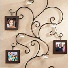 Image result for wrought iron wall photo tree