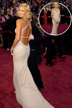 In Gucci at the 2004 Academy Awards   - ELLE.com
