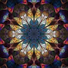 Fractal 'The mandala of unfolding' by ~IDeviant