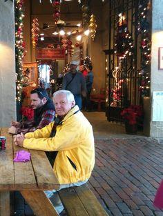 Jim and Richard in Stockyards