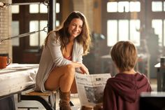 Evangeline Lilly in Real Steel