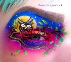 Halloween Costumes – Just another WordPress site Face Paint Makeup, Eye Makeup Art, Eye Art, Makeup Artistry, Diy Halloween, Halloween Face Makeup, Halloween Costumes, Crazy Makeup, Love Makeup