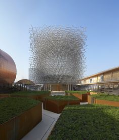 """UK Pavilion - Milan Expo 2015 / Wolfgang Buttress. P.S. I know this miss-leads idea of """"food"""" but still this looks awesome"""