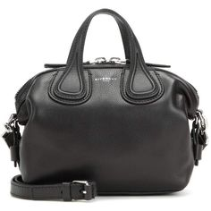 8b51ff4b36dde6 Givenchy Nightingale Micro Leather Tote (137.890 RUB) ❤ liked on Polyvore  featuring bags,