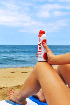 Your outfit should be the only thing that's red this of July - not your skin! Summer Activities, Summer Vibes, Drinks, Bottle, Outfit, Water, Red, Drinking, Outfits