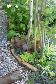 side flower bed