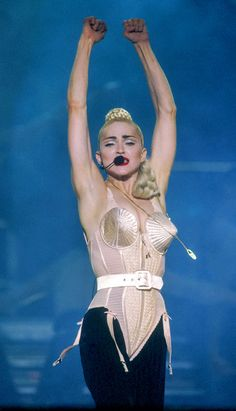 Straight to the Point from Madonna's Wild Costumes & Red Carpet Looks Many duplicates, only one original.