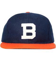 ebbets field brooklyn bushwicks 1949 ballcap