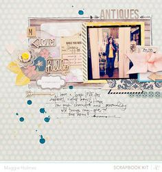 Antiques by maggie holmes at Studio Calico February Kits