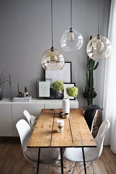 Dining tables for every style of living Which dining tables to match your interior design style . - home-dekor - Home Sweet Home Living Room Interior, Living Room Decor, Ikea Interior, Sweet Home, Living Styles, Dining Room Design, Home And Living, Small Living, Modern Living