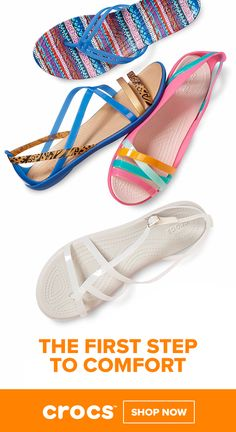 5bbb0c9e0c30bc Comfortable and Colorful Women s Sandals by Crocs Comfortable Sandals