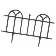 Easy Gardener 8840 24-Inch Forged Wrought Iron Decorative Border