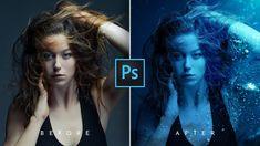 Tutorial Photoshop, Photoshop Ideas, Photoshop Photos, Photoshop Photography, Underwater Photography, Photography Projects, Photography Tips, How To Make Photo, Water Nymphs