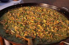 Curry verde de langostinos | Narda Lepes