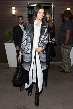 At Gigi Hadid's 20th birthday party, April 2015 - CosmopolitanUK