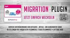 Migration Plugin für PrestaShop
