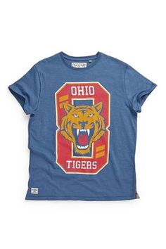 Buy Blue Ohio Tiger Short Sleeve T-shirt (3-16yrs) from the Next UK online shop