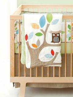 Treetop Friends Crib Bedding 4- Piece Set