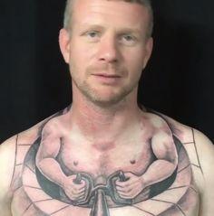 Isto é uma tattoo bem feita mas podem concordar que uma piada do é piada por algum tempo depois passa a já não ser piada e ser até mau gosto...e uma tattoo para a vida não é algo de 15 dias mas sim permanente