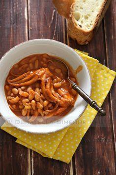Zuppetta di moscardini e fagioli