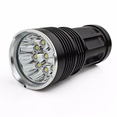 Coolbiz 2500LM SKYRAY 10 x Cree XM-L T6 LED Flashlight Torch Powered By 4 x 18650 Lamp Perfect for Home and Defense -- This is an Amazon Affiliate link. Be sure to check out this awesome product.