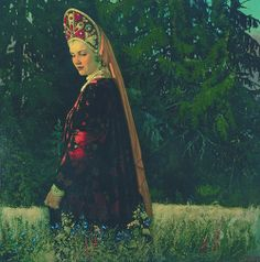 "V. Sokovnin    ""Russian Beauty"""