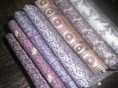 Quilting Fabric Half Yard Bundle  Collection by PrimitiveQuilting, $37.10
