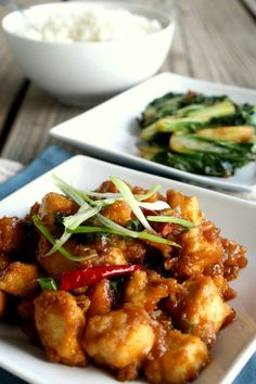 Family Lunch - 12 Delicious Recipes Ideas - Mandarin, Soy, Ginger And Garlic Chicken Lunch Recipe
