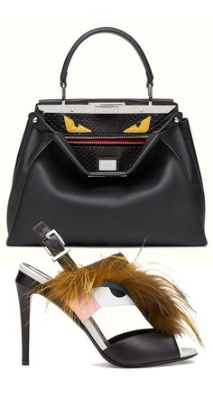 Fendi Collection  More Luxury Details Clothing, Shoes & Jewelry : Women : Handbags & Wallets http://amzn.to/2lvjsr9