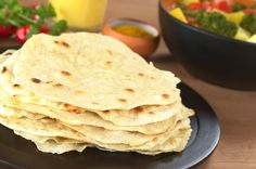 Caribbean Roti Recipe, considered as a type of street food in Trinidad – kind of like a Caribbean fast food.